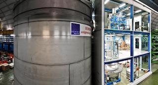 infn lngs esperimento xenon 1t